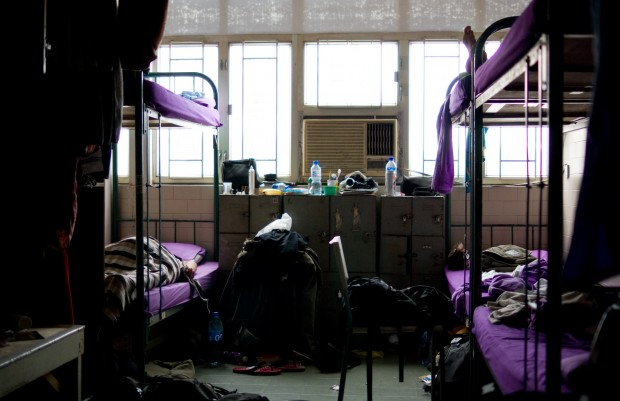 The dreaded dorm room