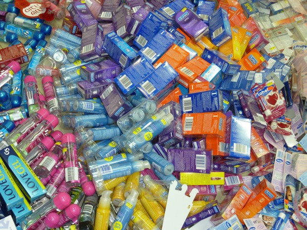 So many condoms