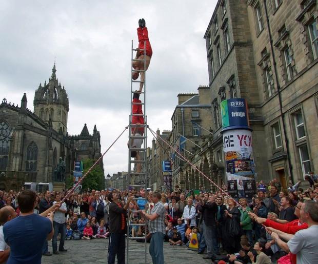 stag do destinations - Edinburgh