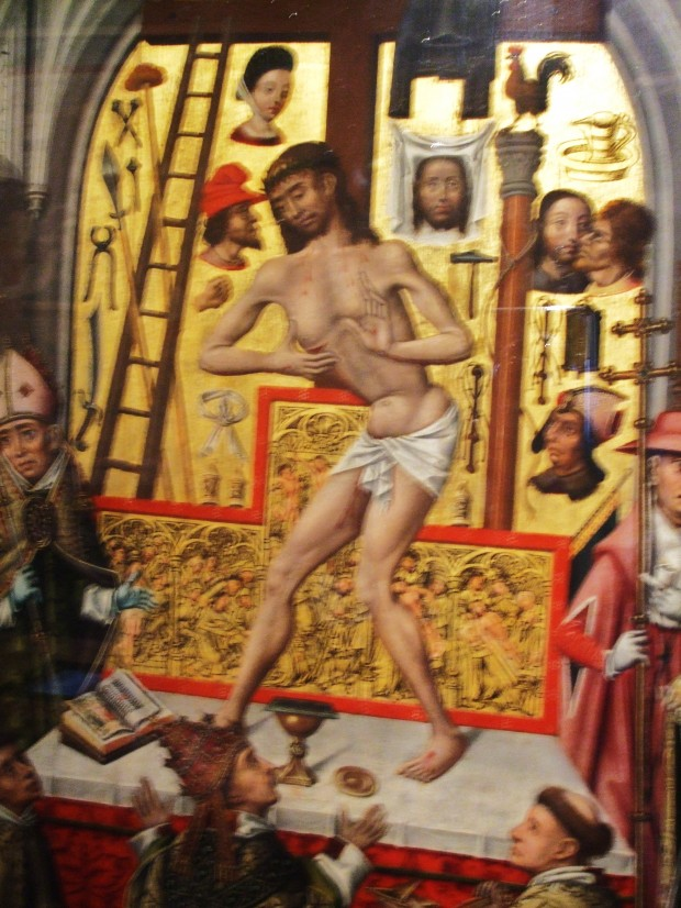 kinky Paris: Jesus doing a boogie