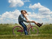 ngagement, Couple, Romance, Bike
