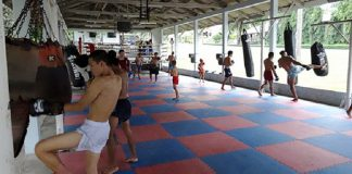 Muay Thai camp