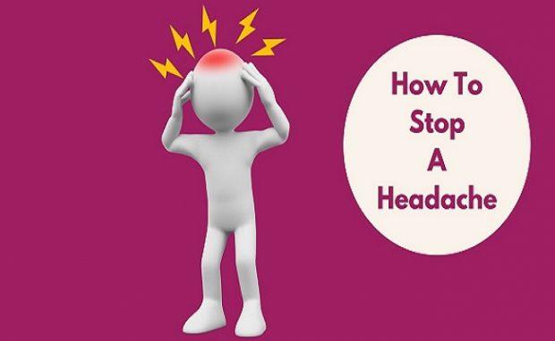 ways to stop headaches