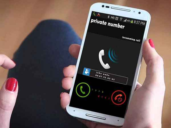 Privare Number Calling