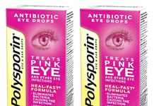Polysporin eye drops