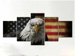 NATION FLAG AS WALL ART