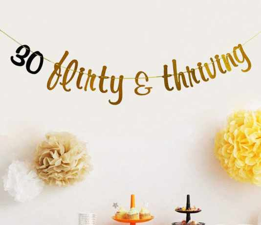 thirty flirty and thriving